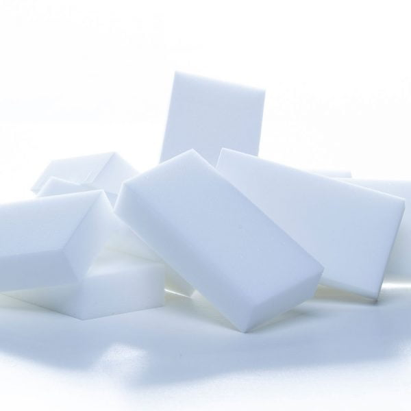 White Cleaning Pads